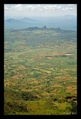 Looking East to Mozambique from Manicaland, Eastern Highlands, Zimbabwe