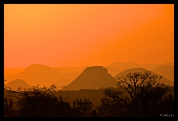Sunset View near Mutare, Zimbabwe