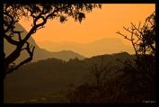 Sunset View during Game Drive at Inn on the Ruparara, Nyanga, Zimbabwe