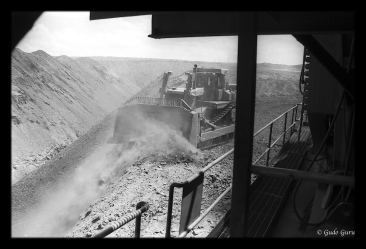 Hwange Open Cast Coal Mine, Zimbabwe