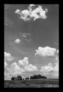 Sky and Rocks at Matopos, Zimbabwe