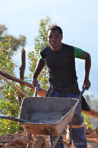 Mr Tendai Mushonga - builders assistant