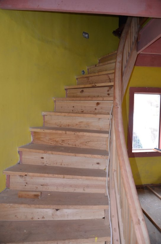 stairs - unfinished