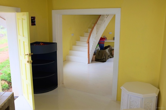and now its an interior doorway!