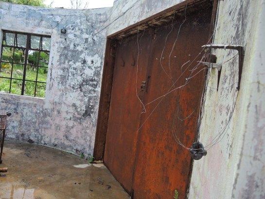 that original doorway from the inside