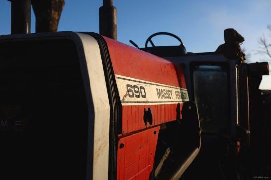 MF 690, 4500kg, 80 HP, 4 WD