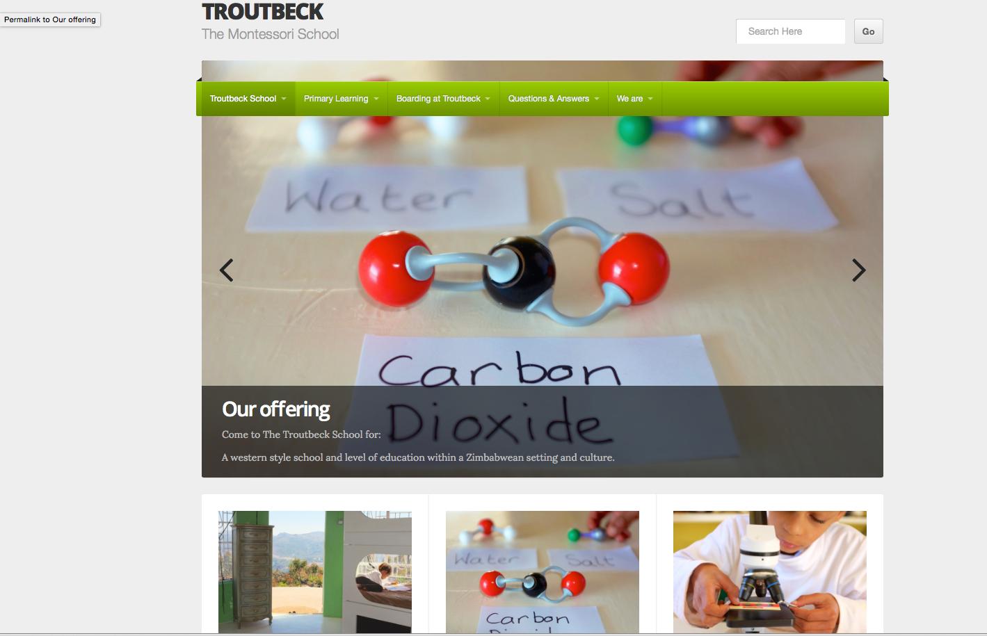 The Troutbeck School.com