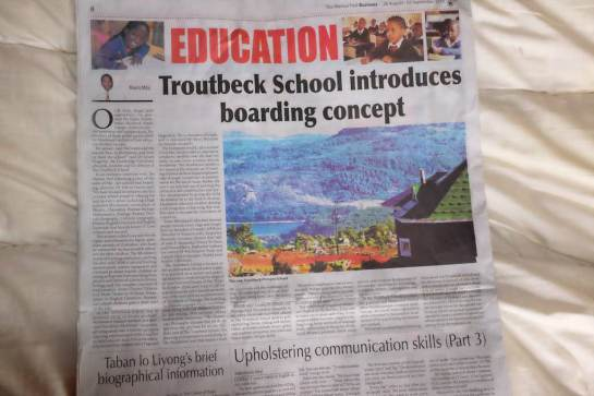 The Troutbeck School in the Mania Post