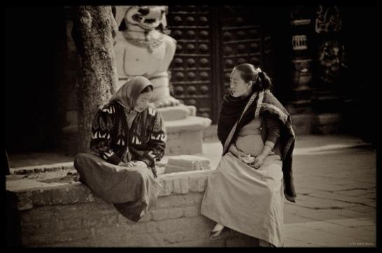 Two women Kathmandu