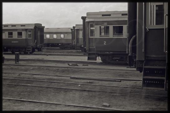 Eastern Highlander in Bulawayo: Home to Steam Trains of Zimbabwe