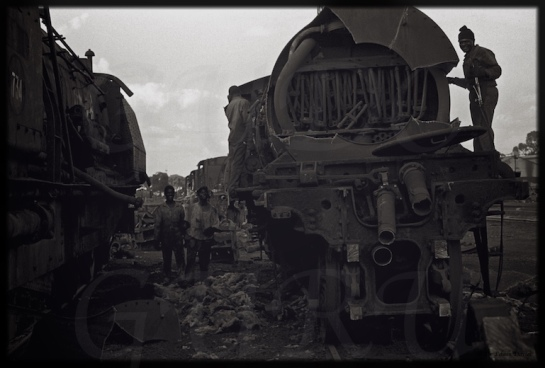 Eastern Highlander in Bulawayo: Breaking the Steam Trains of Zimbabwe