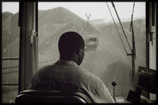 Eastern Highlander goes Open Cast Mining in Hwange