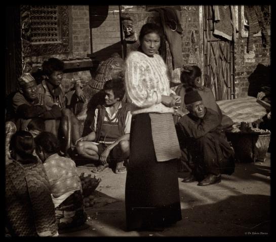 Sherpa woman Kathmandu