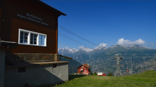 Gspon cable car station