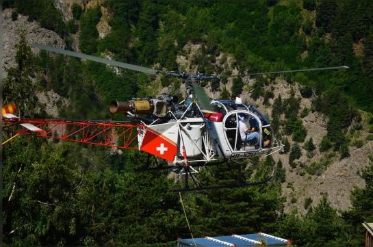 Air-Glaciers Der fliegende Fuel Tank,
