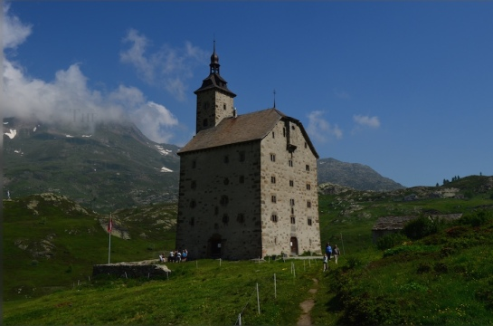 Stockalper tower Simplonpass