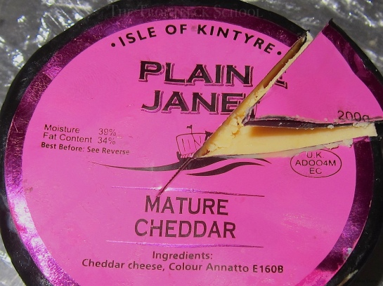 Plain Jane Mature Cheddar!
