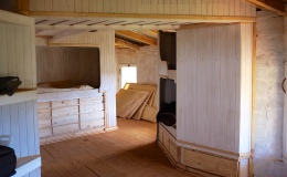 Building a real log cabin – 18 monthson