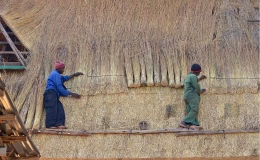 Post and Beam – Thatching a sea ofgrass